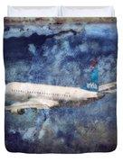 Hell Of A Flight Duvet Cover