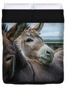 Hello Donkey Duvet Cover