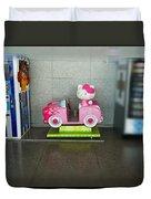 Hello Kitty Car Duvet Cover