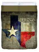 Hello Texas Duvet Cover
