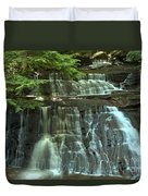 Hells Hollow Falls Duvet Cover