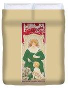 Helm Cacao Duvet Cover