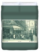 Hemingway's Paris 1925 Duvet Cover