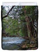 Hemlock Creek Edge Duvet Cover