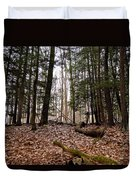Hemlock Forest Duvet Cover