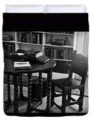 Hemmingway's Desk Duvet Cover