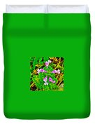 Henbit At Chickasaw Village Site At Mile 262 Of Natchez Trace Parkway-mississippi Duvet Cover