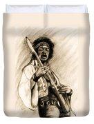 Hendrix-antique Tint Version Duvet Cover