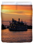 Henrietta II On The Cape Fear Duvet Cover