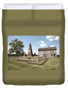 Henry Hill At Manassas Duvet Cover