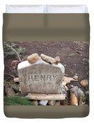 Henry Thoreau Duvet Cover