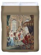 Henry Viii And Anne Boleyn Duvet Cover
