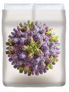 Hepatitis B Virus Duvet Cover
