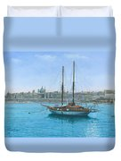 Hera 2 Valletta Malta Duvet Cover