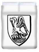 Heraldry Pelican Duvet Cover