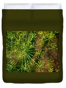 Herbal Abstract Duvet Cover
