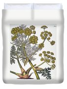 Herbal: Fennel, 1819 Duvet Cover
