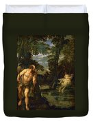 Hercules Deianira And The Centaur Nessus Duvet Cover