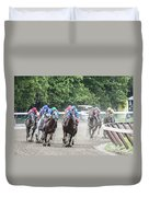 Here Is Mud In Your Eye Duvet Cover