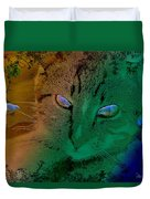 Here Kitty Kitty Duvet Cover