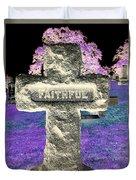 Here Lie The Faithful Duvet Cover