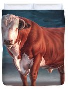 Hereford Bull Duvet Cover