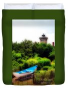 Hereford Inlet Lighthouse  Duvet Cover
