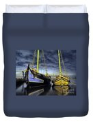 Heritage In Mirrored Water Duvet Cover
