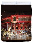 Heritage Looff Carousel Duvet Cover