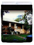 Heritage Sandstone House In Sydney Australia Duvet Cover