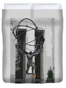 Herkules Abstract Nyc Duvet Cover