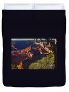Hermit Rest Grand Canyon National Park Duvet Cover
