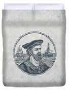 Hero Sea Captain - Nautical Design Duvet Cover