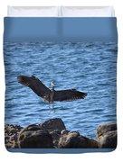 Heron Landing Duvet Cover