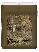 Heron's Winter's Watch Duvet Cover