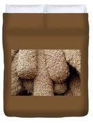 Hessian Boat Bumpers Duvet Cover
