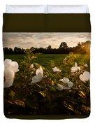 Hibiscus At Sunrise  Duvet Cover