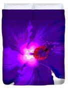Hibiscus - Flower - Ile De La Reunion - Reunin Island Duvet Cover