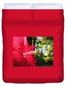 Hibiscus - Lord Baltimore Duvet Cover