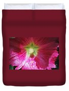 A Hibiscus Discovered On Boston Common Duvet Cover