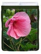 Hibiscus Profile Duvet Cover