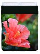 Hibiscus Summer Duvet Cover