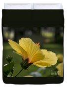 Hibiscus 'sunny Wind'  3407 Duvet Cover