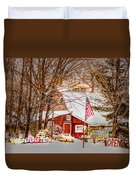 Hickory Lake Woodworks Duvet Cover