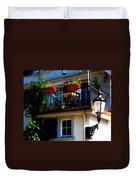 Hidden Away Balcony Duvet Cover