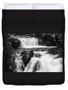 Hidden Falls Sheep River 1 Duvet Cover