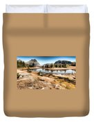 Hidden Lake Trail Glacier National Park Duvet Cover