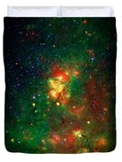 Hidden Nebula 2 Duvet Cover by Jennifer Rondinelli Reilly - Fine Art Photography