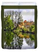 Hidden Village Duvet Cover