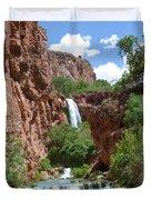 Hidden Waterfalls Duvet Cover